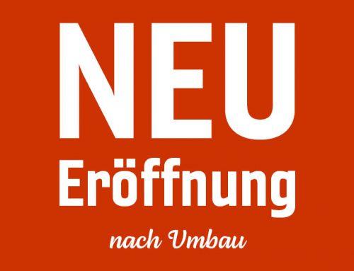 Wiedereröffnung der Filiale in Merseburg