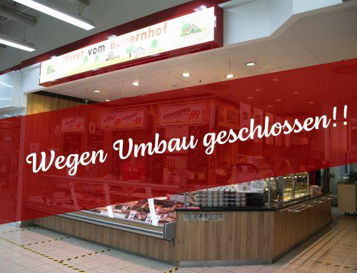 Umbau der Filiale in Merseburg